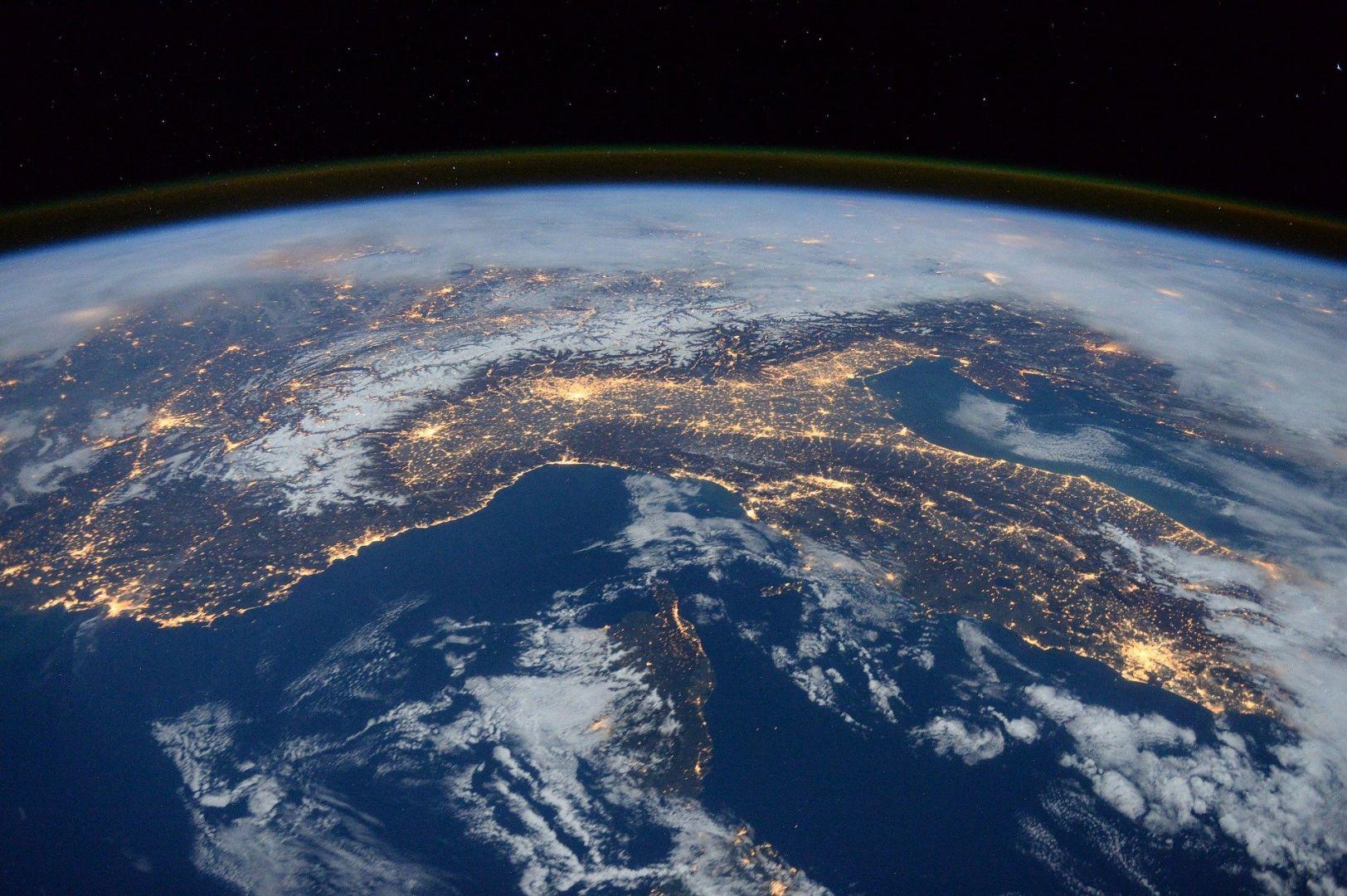 Россия из космоса фотографии