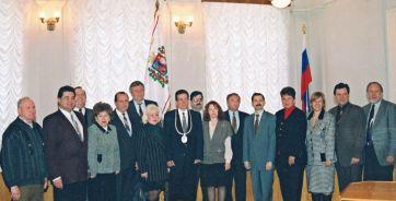 Депутаты первого созыва городской Думы