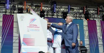 8 октября прошлого года огонь зимней Универсиады зажгли в Ростове.