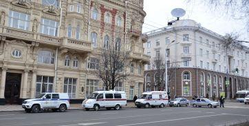 Сегодня временно было перекрыто движение на участке Большой Садовой, от переулка Семашко до проспекта Буденновского