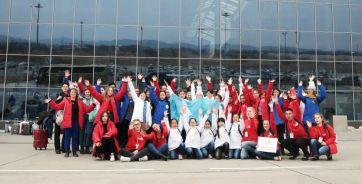 Волонтеры XVII Дельфийских игр (Владивосток)