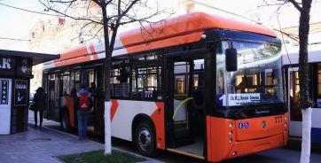 Новый троллейбус протестировали в Ростове в апреле