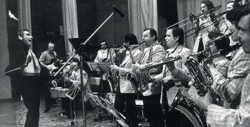 Оркестр Кима Назаретова. Воронеж, 1980 год.