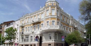 Дом Заславской, который находится на пересечении Пушкинской и Семашко