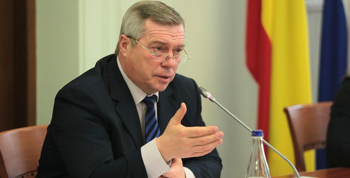 Василий Голубев раскритиковал работу министра ЖКХ Ростовской области