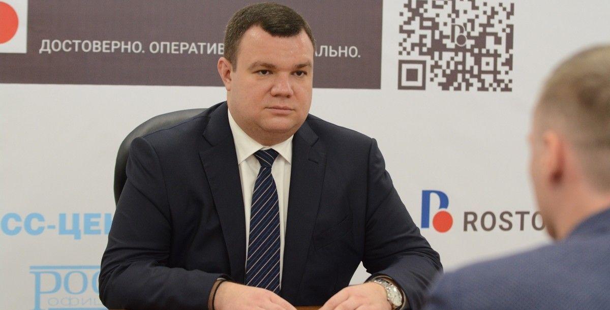 Руководитель администрации Ростова-на-Дону ушел вотставку