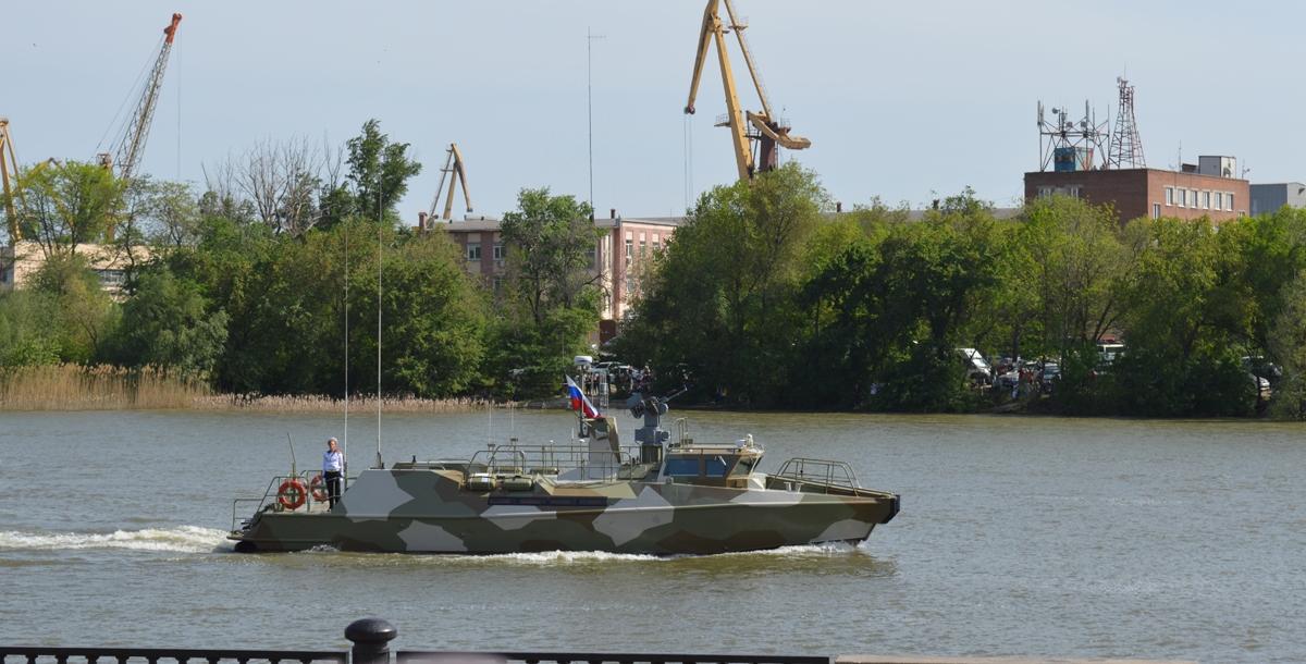 Противодиверсионный катер «Раптор» Черноморского флота