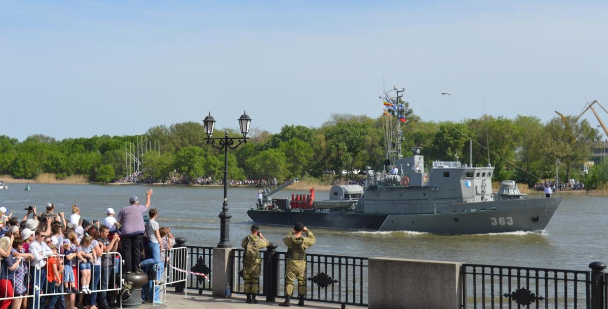 Рейдовый тральщик типа «Сапфир» Каспийской флотилии