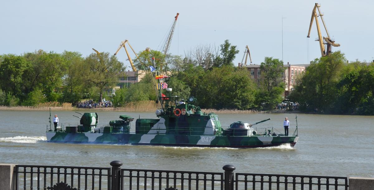 Малый артиллерийский катер типа «Шмель» Каспийской флотилии