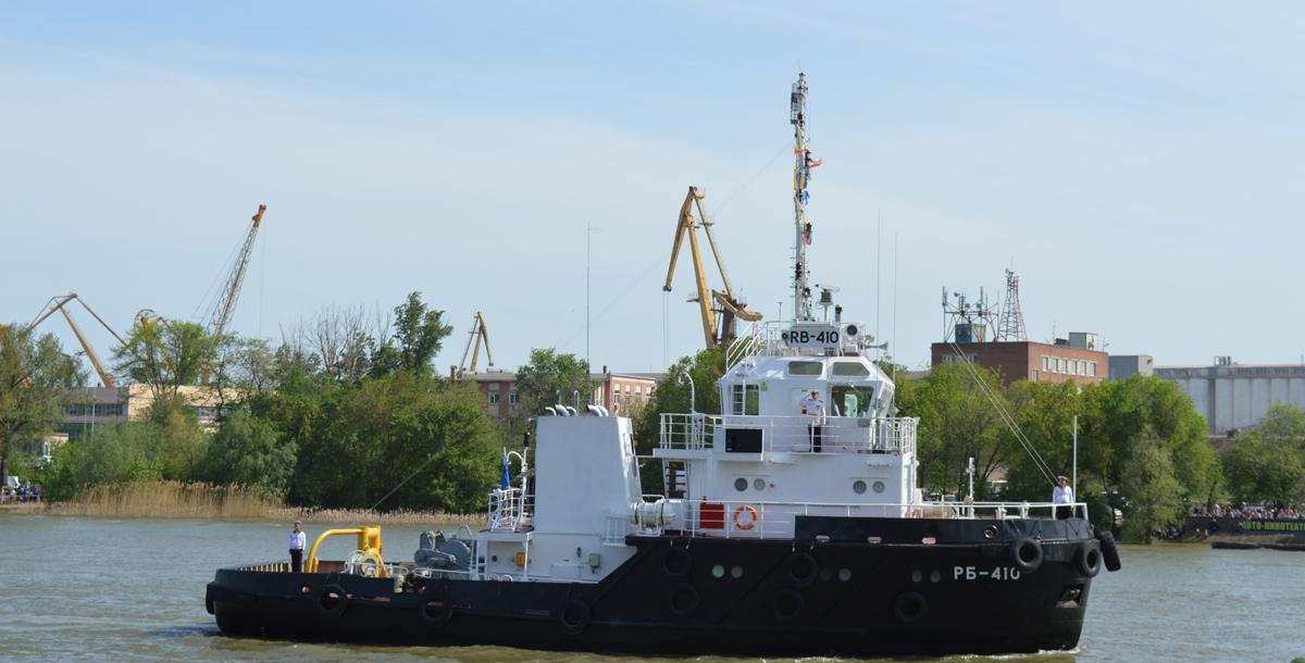 Рейдовый буксир Каспийской флотилии