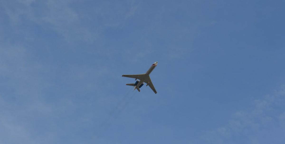 Самолет Ту-134