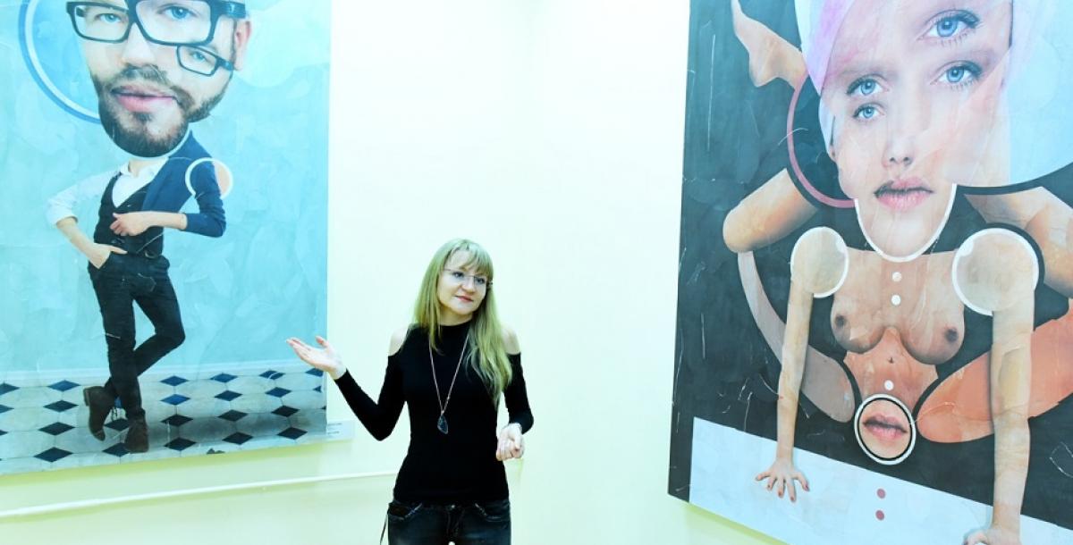 Сотрудник Ростовского областного музея изобразительных искусств, экскурсовод Дарья Аржановская помогает разобраться со смыслами.
