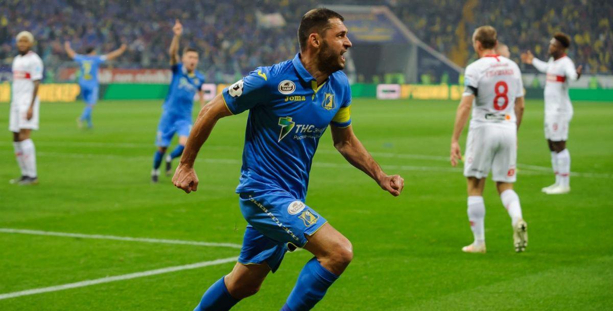 Александр Гацкан открыл счет в матче