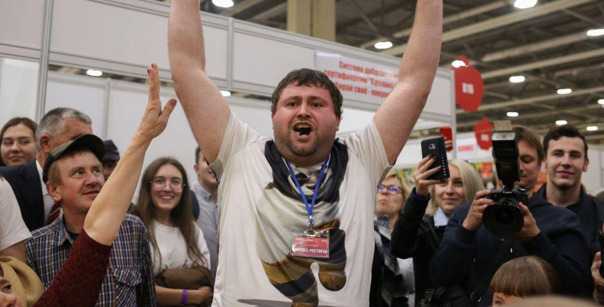 Но все же Денис Шептухов взял призовое место с показателем 2,13 минуты