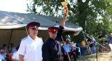 Кроме главного приза для взвода, представитель Миллеровского района Петр Дмитриченко завоевал приз зрительских симпатий.