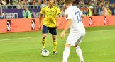 Роман Еременко был, как всегда, активен, но результативными действиями в этой игре не отметился