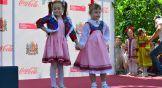 На церемонии официального открытия прошло дефиле маленьких моделей.