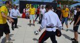 А это фото называется «Как казаки с бразильцами в футбол играли».