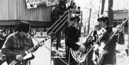 Выступление группы «Корда» на рок-фестивале в мае 1969 года.