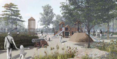 Проект парка в станице Старочеркасской.
