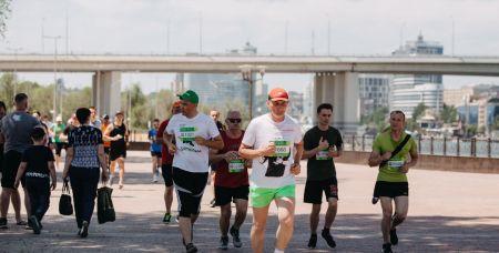"""""""Зеленый марафон"""" в Ростове в парке """"Левобережный"""""""